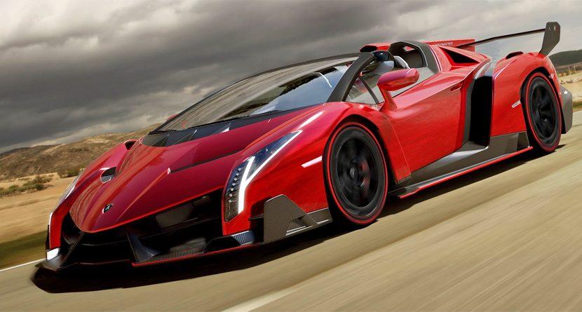 Lamborghini Unveils $4.5 Million Veneno Roadster