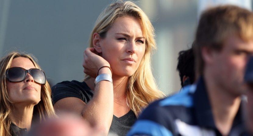 Lindsey Vonn Credits Tiger Woods in her Comeback
