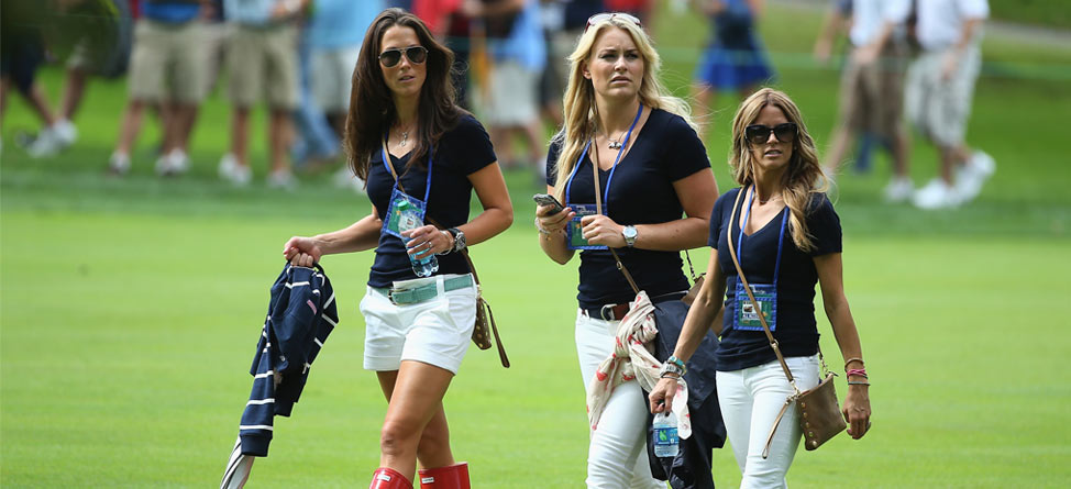 Lindsey Vonn Makes the Rounds at the Presidents Cup