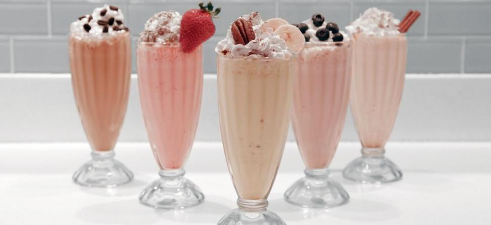 Grill Room: Presidents Cup Milkshakes