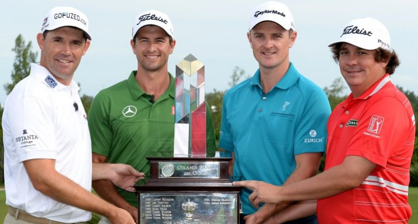 Stars In Bermuda for PGA Grand Slam of Golf