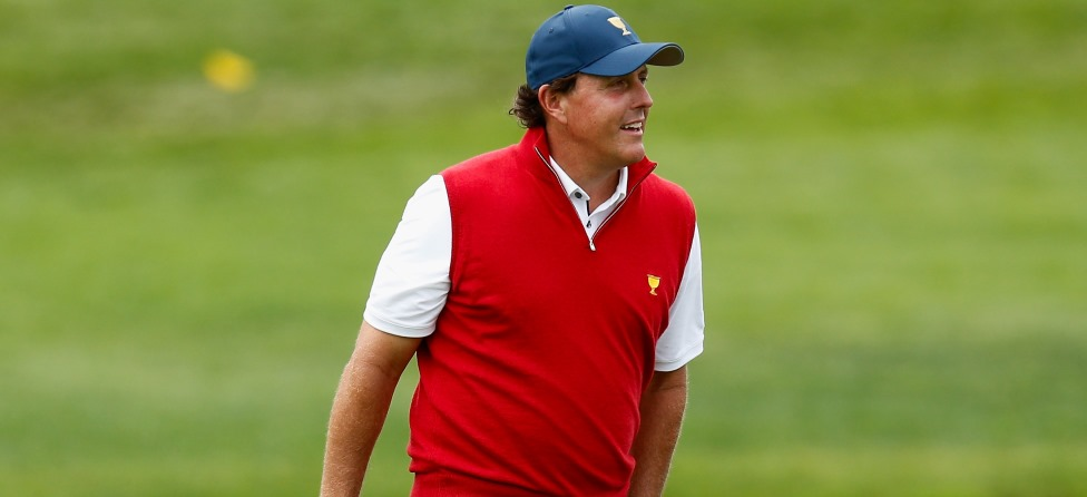 Phil Mickelson anchor
