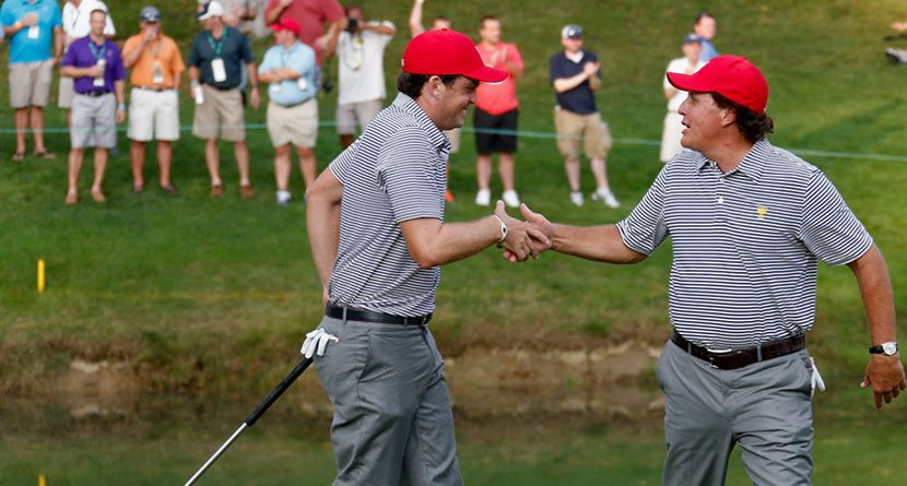 2013 Presidents Cup Best Moments: Day 2