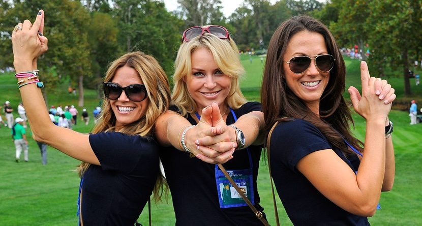 Lindsey Vonn Returns to Presidents Cup