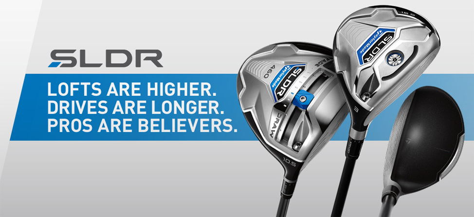 Gearing Up: TaylorMade SLDR Woods
