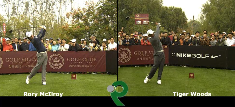 Tiger vs. Rory: Swing Comparison