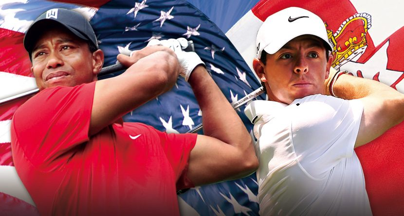 Tiger vs. Rory at 'The Match at Mission Hills'