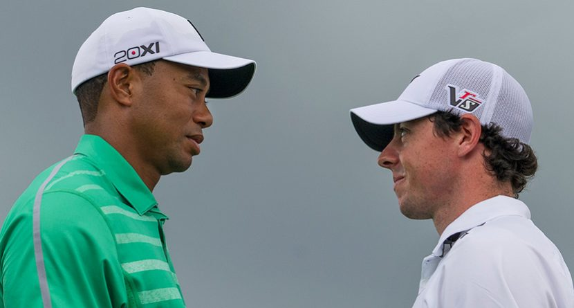 Rory McIlroy Edges Tiger Woods in Match at Mission Hills