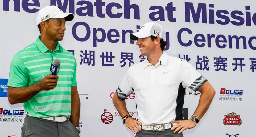 Best of Tiger-Rory-Ahmad Banter from Match at Mission Hills: Part 2