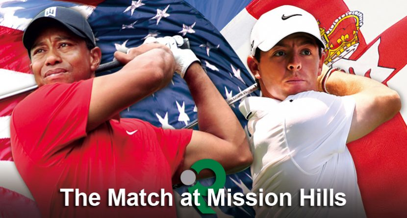 Tiger Woods, Rory McIlroy Match at Mission Hills Schedule