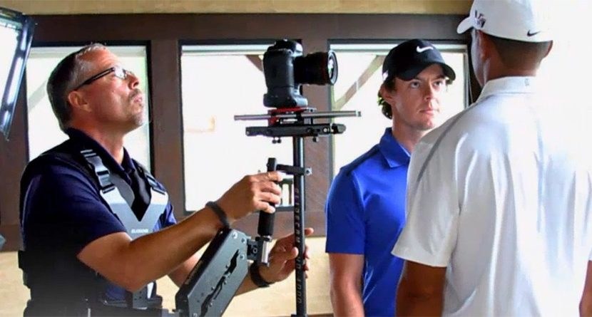 Behind-the-Scenes of Back9's Tiger-Rory Promo