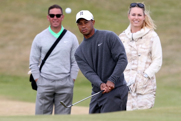 Tiger Woods Sean Foley Lindsey Vonn