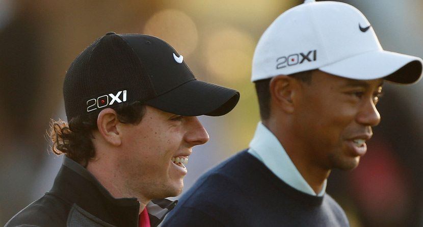 The Odds: Rory McIlroy Tops Tiger Woods on Doral Board