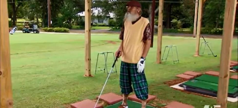Duck Dynasty's Uncle Si is No Bubba Watson