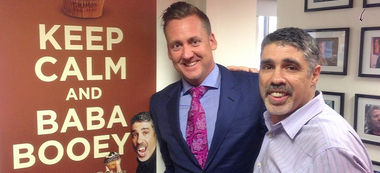 Ian Poulter Gets Radio Show, Meets Baba Booey