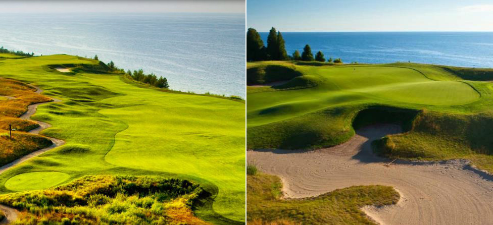 Better Public Golf Course: Bay Harbor or Arcadia Bluffs?
