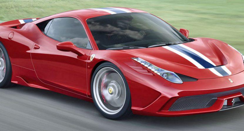 Stenson's Caddy Buys New Ferrari