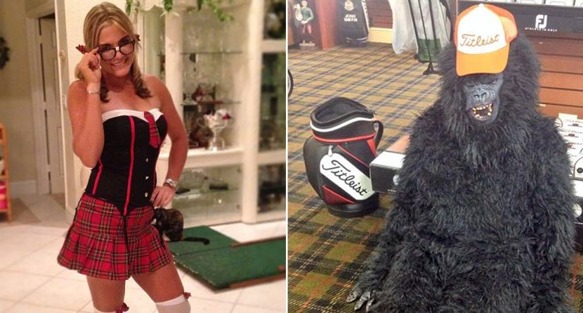 Best Halloween Pictures from the Golf World