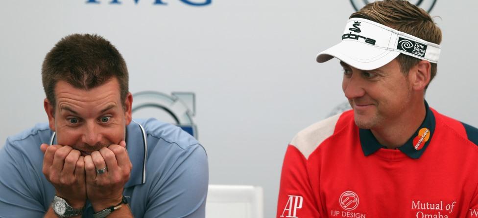 Henrik Stenson, Ian Poulter Have Side Bet Going in Dubai