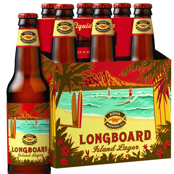 Kona Longboard Island Lager