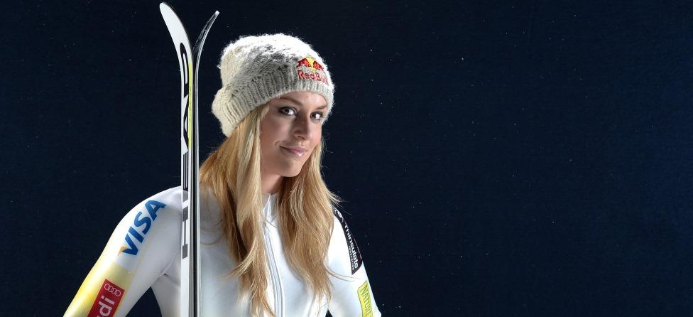 Lindsey Vonn Is Back On Skis, Feeling Good