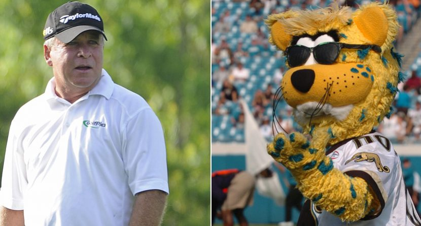 Jaguars Mascot Finally Wins a Closest-To-Pin Contest