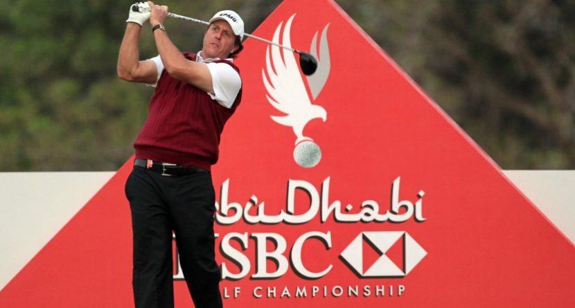 Phil Mickelson to Start 2014 at Abu Dhabi Championship