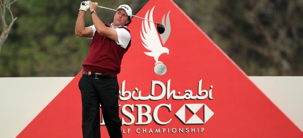 Phil Mickelson to Start 2014 at Abu Dhabi Championship