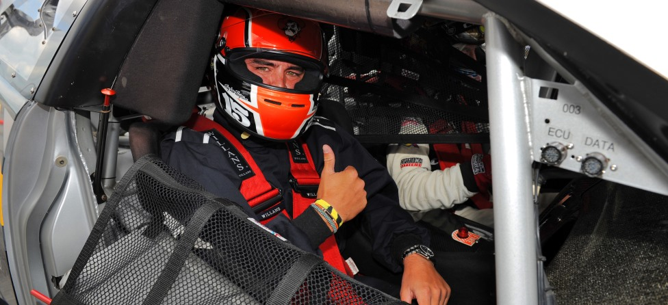 Rickie Fowler Takes the Wheel at AMG Driving Academy