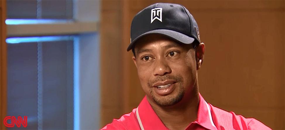 Rachel Nichols Interviews Tiger Woods