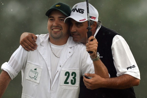 Angel Cabrera and son, Angel Jr.