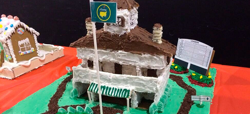 Check Out This Augusta National Gingerbread House