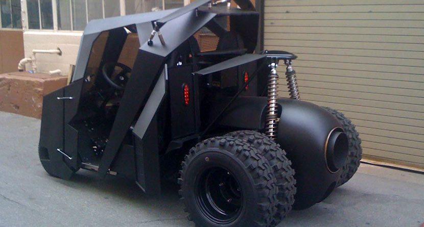 Batman-Inspired Golf Cart Sells for Big Bucks on eBay