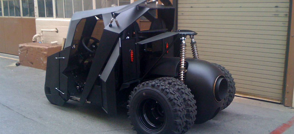 Batman-Inspired Golf Cart Sells for Big Bucks on eBay