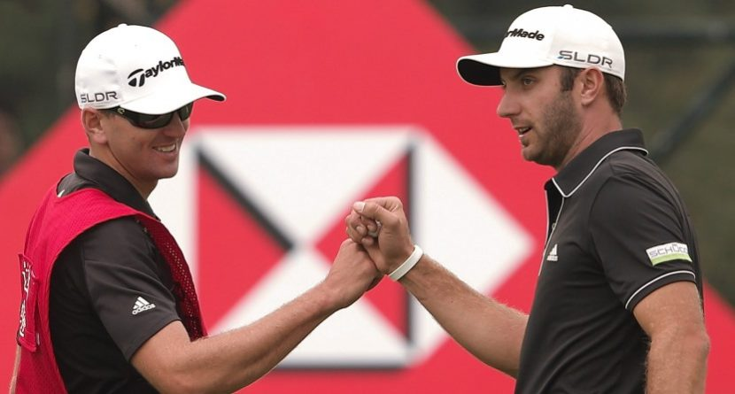 Dustin Johnson & 5 More Interesting Golfer-Caddie Combos