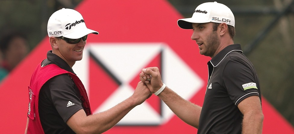 Dustin Johnson & 5 More Interesting Golfer-Caddie Combos