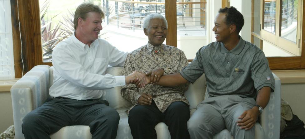 Golfers Honor Nelson Mandela