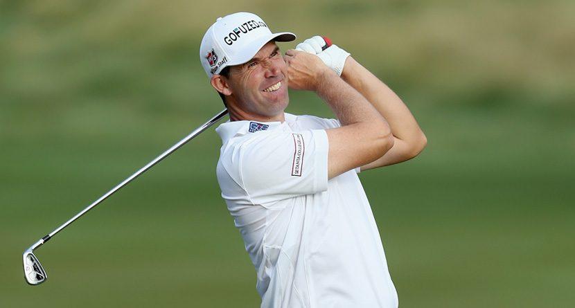 Padraig Harrington Sure Likes Hitting Golf Balls at People