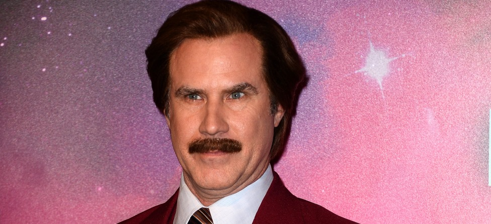 Ron Burgundy Shows Off Golf Swing on Media Tour