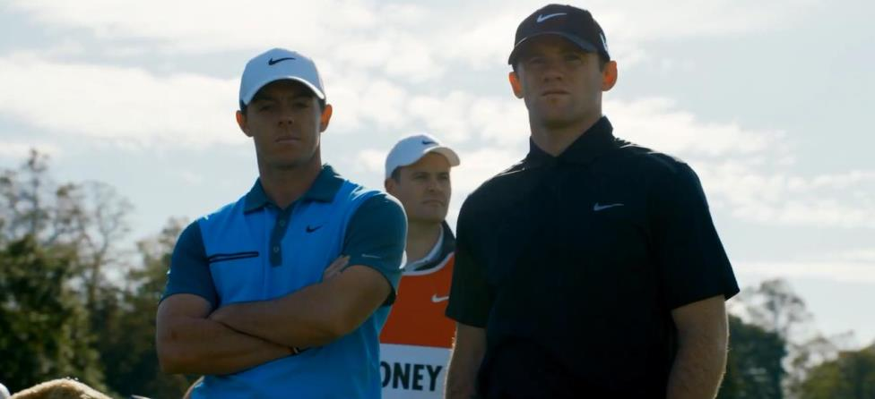 Rory McIlroy Battles Wayne Rooney in Nike Commercial