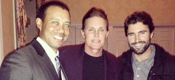 Bruce, Brody Jenner Hang With Tiger Woods