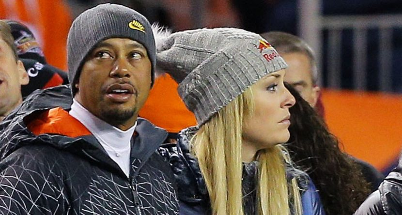 Tiger Woods 'Day To Day' On Seeing Lindsey Vonn at Olympics