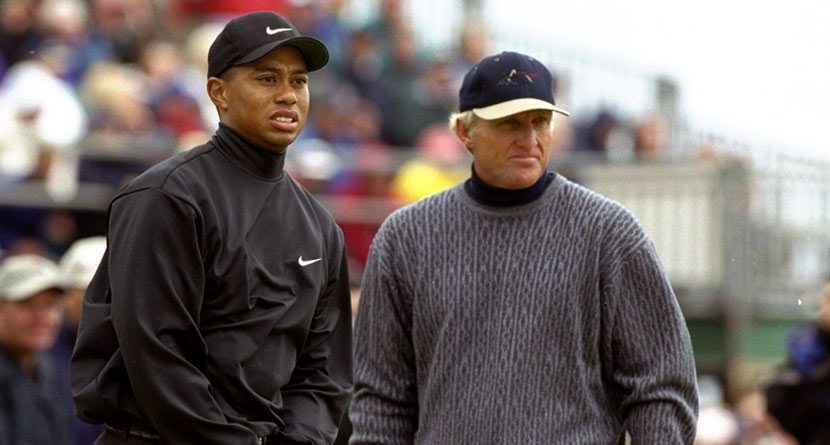 Greg Norman on Tiger: 'I Probably Would Have Beat Him'