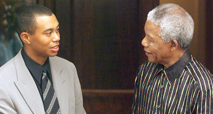 Tiger Woods Idol Nelson Mandela Passes Away at 95