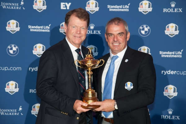 Tom Watson Paul McGinley Ryder Cup 600