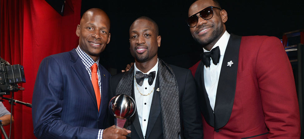 Dwyane Wade Hands Out Masters-Inspired Jackets to Miami Heat