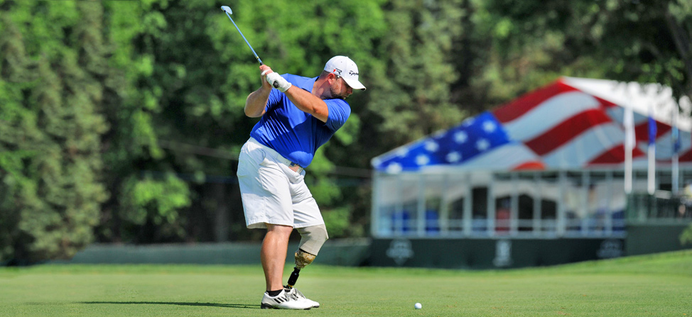 TaylorMade Professionally Fits Wounded Warriors