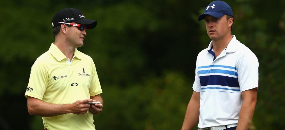 Jordan Spieth, Zach Johnson to Race John Deere Golf Carts?