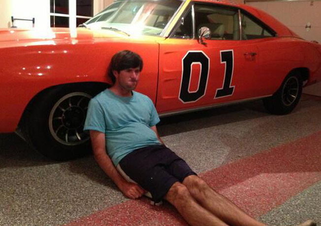 Dufnering with the General Lee
