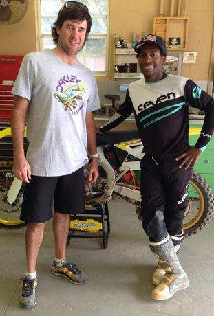 Hanging with James Stewart